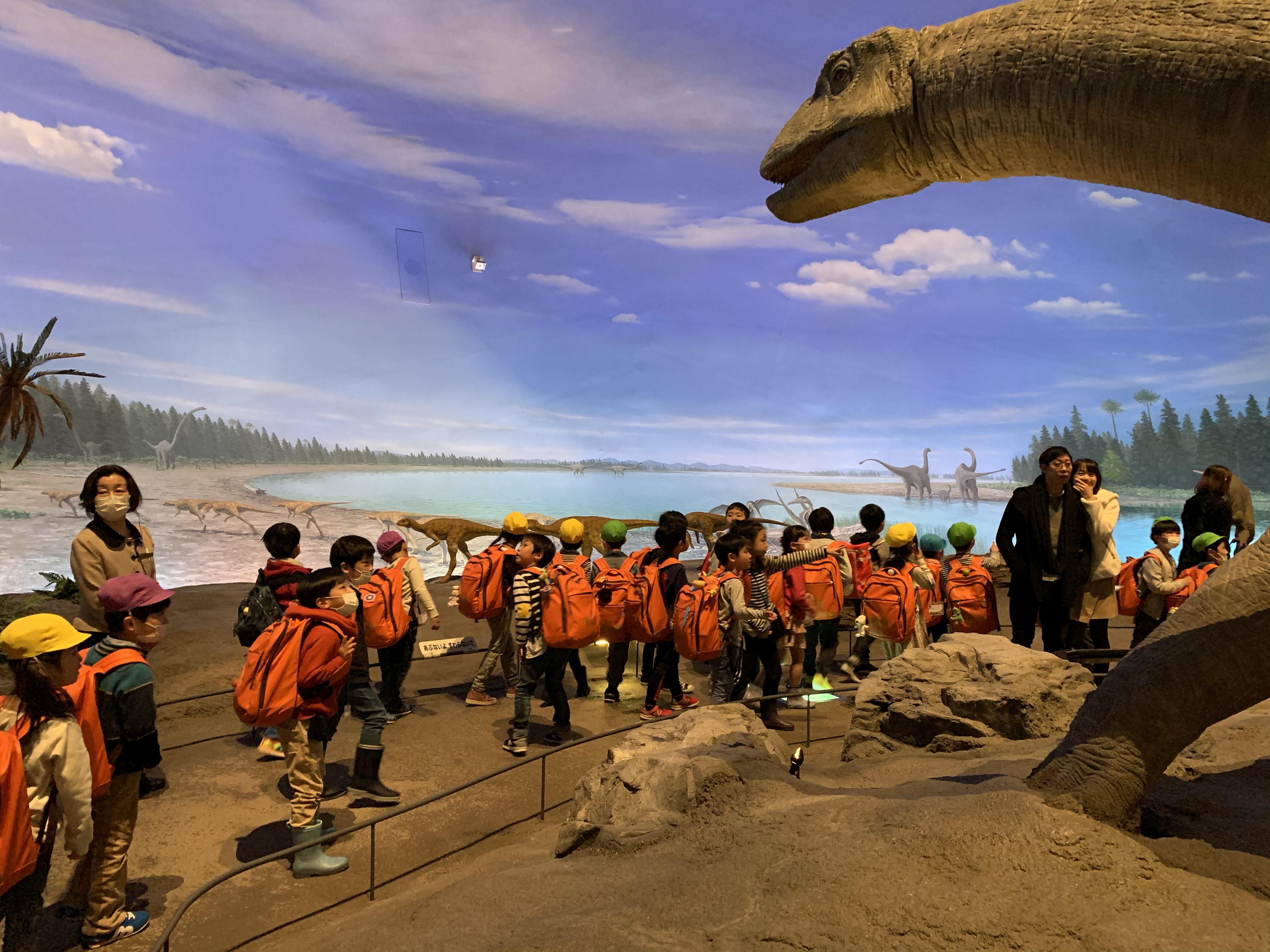 恐竜博物館 館内3