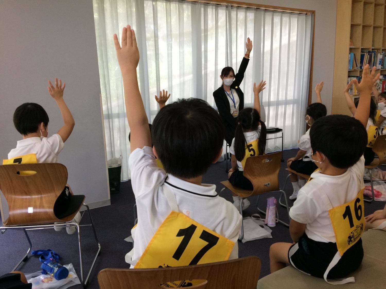 お子さま「体験授業対策講座」の様子③