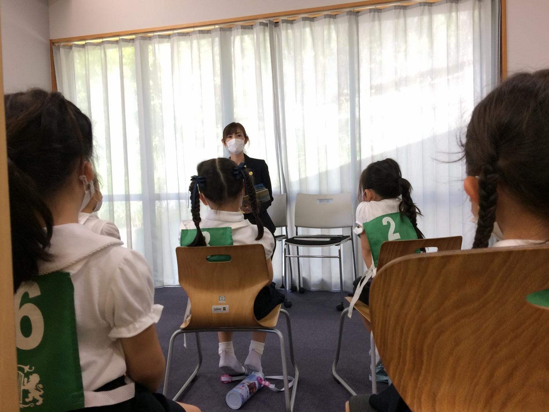 お子さま「体験授業対策講座」の様子④