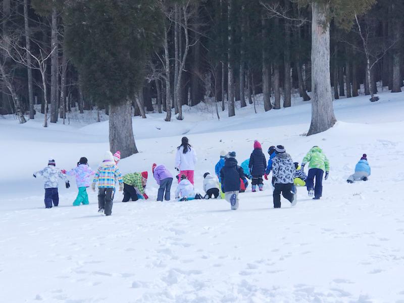 Snow Party「小学生」の様子