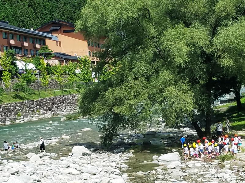 サマーフェスタ「2日目 幼児川遊び」の写真
