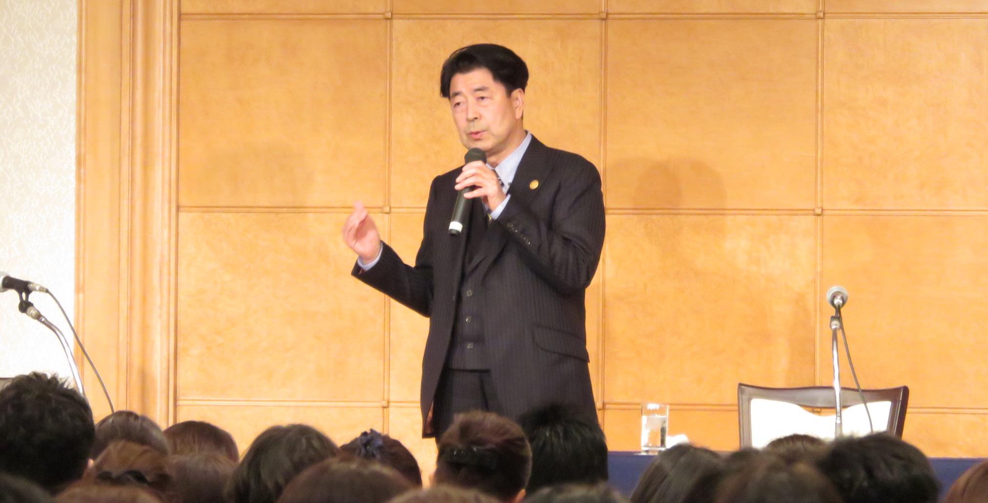 エコール・ドゥ・アンファン理事長 安田 龍男より オープニングスピーチ